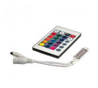 RGB контроллер мини 6 А 72 Вт, (IR 24 кнопки)