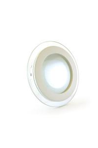 Светильник встраиваемый со стеклом 6Вт 4000К круг негерметичный