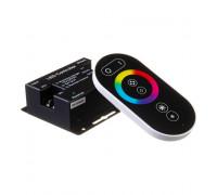 Контроллер RGB 18A-12Вт черный (Radio 6 кнопок)