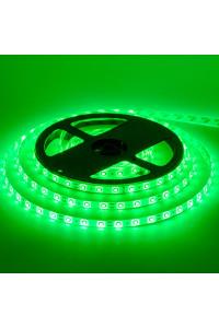 Светодиодная лента 12в зеленая smd2835 60led/м негерметичная, 1м