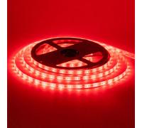 Светодиодная лента 12в красная smd2835 60led/м герметичная, 1м