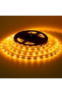 Светодиодная лента 12в желтая smd2835 60led/м негерметичная, 1м