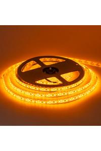 Светодиодная лента 12в желтая smd2835 120led/м герметичная, 1м