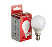 Светодиодная лампа 5вт Sivio теплая белая E14 3000K G45