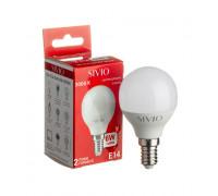 Светодиодная лампа 6вт Sivio теплая белая E14 3000K G45