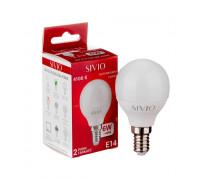 Светодиодная лампа 6вт sivio нейтральная белая E14 4100K G45