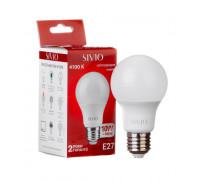 Светодиодная лампа 10вт sivio нейтральная белая E27 4100K A60