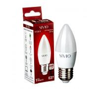 Светодиодная лампа 6вт sivio нейтральная белая E27 4100K C37