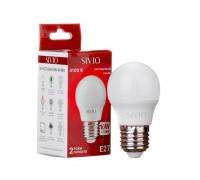 Светодиодная лампа 10вт sivio нейтральная белая E27 4100K G45