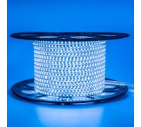 Светодиодная лента 220в синяя AVT smd2835 120led/m 4W/m герметичная, 1м
