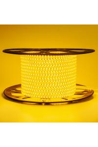Светодиодная лента 220в желтая AVT smd2835 120led/m 4W/m герметичная, 1м