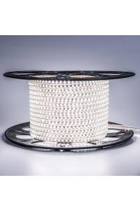Светодиодная лента 220в белая smd2835 120led/m 12W/m герметичная, 1м