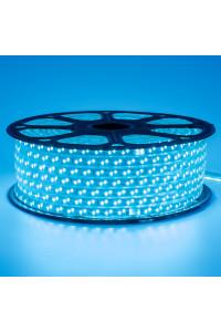 Светодиодная лента 220в синяя smd2835 120led/m 12W/m герметичная, 1м