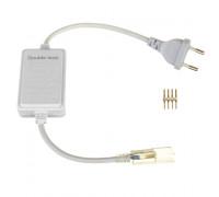 Адаптер питания ленты RGB 220в 10мм smd5050 (контроллер) с вилкой