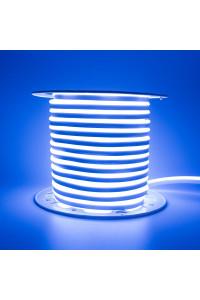 Светодиодный неон 220в синий AVT smd2835 120led/m 7W/m герметичный, 1м