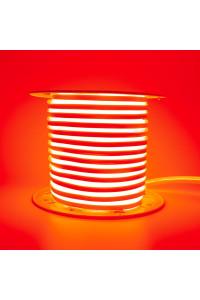Светодиодный неон 220в красный AVT smd2835 120led/m 7W/m герметичный, 1м