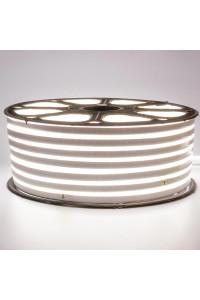 Светодиодный неон 220в холодный белый smd2835 120led/m 12W/m герметичный, 1м
