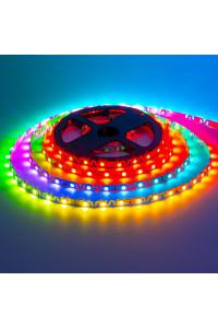 Адресная светодиодная лента (Shape) 5в ws2812b smd5050 48led/м негерметичная, 1м