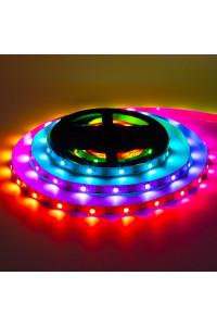 Адресная светодиодная лента AVT 5в ws2812b smd5050 30led/м негерметичная, 1м
