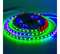 Адресная светодиодная лента AVT 12в tm1903 smd5050 60led/м негерметичная, 5м