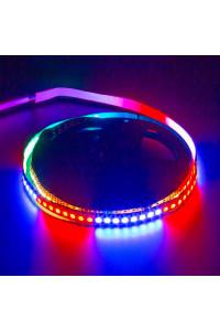 Адресная светодиодная лента AVT 5в ws2812b smd5050 144led/м негерметичная, 1м