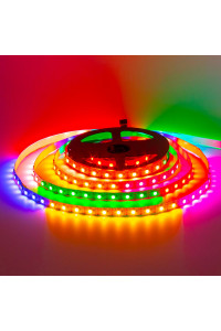 Адресная светодиодная лента AVT 5в ws2812b smd5050 60led/м негерметичная, 1м