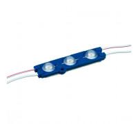 Led модуль синий 12V smd5730 3LED 1.5Вт IP65