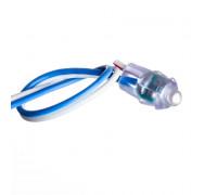 Кластер быстрого монтажа 12в синий 1LED 0.08Вт герметичный