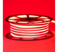Светодиодный неон 220в красный AVT-1 smd2835 120led/m 7W/m герметичный, 1м