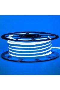 Светодиодный неон 220в синий AVT-1 smd2835 120led/m 7W/m герметичный, 1м
