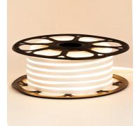 Светодиодный неон 12в белый теплый AVT smd2835 120led/m 6W/m 6*12 силиконовый, 1м