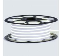 Светодиодный неон 12в белый нейтральный AVT smd2835 120led/m 6W/m 6*12 силиконовый, 1м