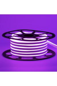 Светодиодный неон 12в фиолетовый AVT smd2835 120led/m 6W/m 6*12 силиконовый, 1м