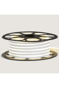 Светодиодный неон 12в холодный белый smd2835 120led/m 6W/m 8*16 PVC герметичный, 1м