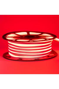 Светодиодный неон 12в красный smd2835 120led/m 6W/m 8*16 PVC герметичный, 1м