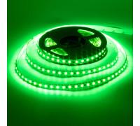 Led лента зеленая 12V AVT smd3528 120LED/m IP20, 1м
