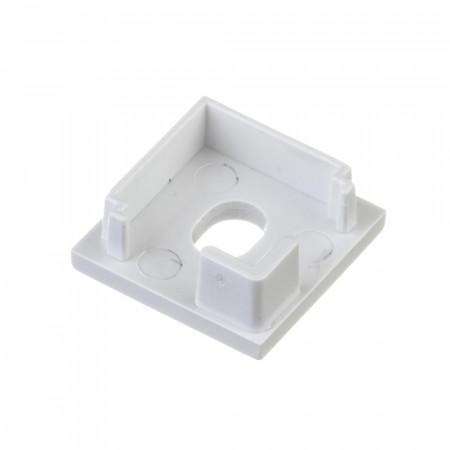 Купить Заглушка для алюминиевого квадратного профиля ПФ-9 с отверстием