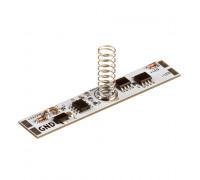 Сенсор для светодиодной ленты с диммером ON/OF 10А 12-24V зеленый индикатор