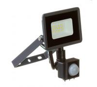 Led прожектор с датчиком движения AVT 10W 6000К IP65