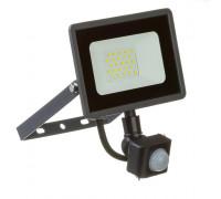 Led прожектор с датчиком движения AVT 20W 6000К IP65