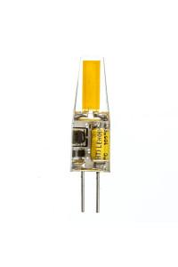 Led лампа cob SIVIO 1505 3,5Вт G4 12В 4500K Silicon