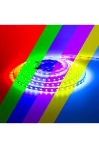 Led лента AVT 24В RGB smd5050 60LED/m IP20, 1м