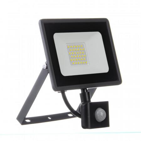 Купить Прожектор с датчиком движения 30W белий холодный AVT-1
